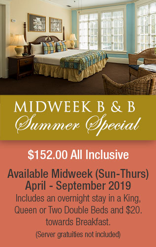 Mid-week Special Package