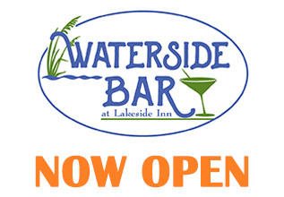 Waterside Bar Now Open